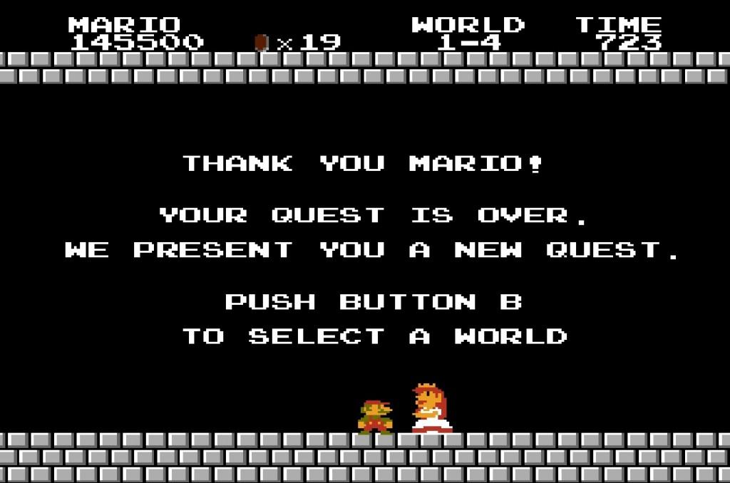 The End of Super Mario Bros